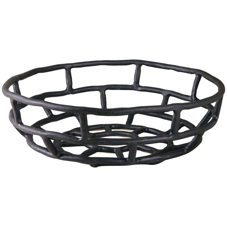 Ashlar Basket Extra Large, Large Ceramic Basket 1