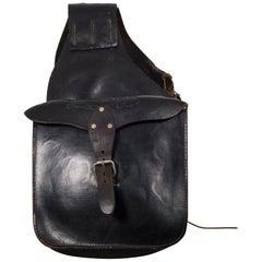 Embossed Leather Saddlebag, circa 1970-1990
