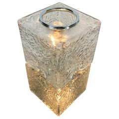 Toni Zuccheri by VeArt Murano Glass 1970s Italian Design of Table Lamp
