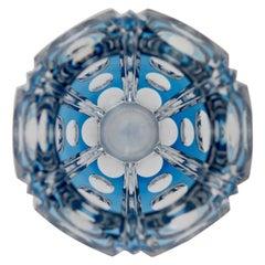 Optische Prismatische Vase von Joseph Simon, 1930