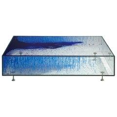 Coffee Table 'Unit #3 Blue Monochrome' by Fredrikson Stallard