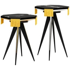 Contemporary Couple of Small Tables