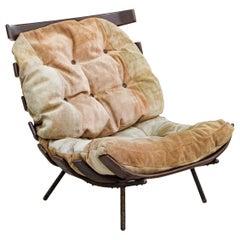 """Costela"" Armchair in Jacarandá Rosewood, by Martin Eisler, Mid-Century Modern"