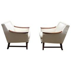 Pair of Scandinavian Armchairs in the Manner of Rastad and Relling