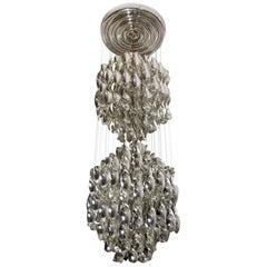 SP2 Spirals Pendant Lamp by J. Lüber AG, 1969