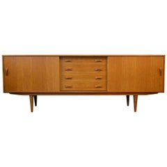 Vintage Danish Desgn Clausen and Son Teak Sideboard