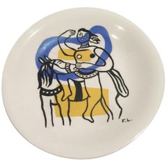 Fernand Leger Decorative Plate
