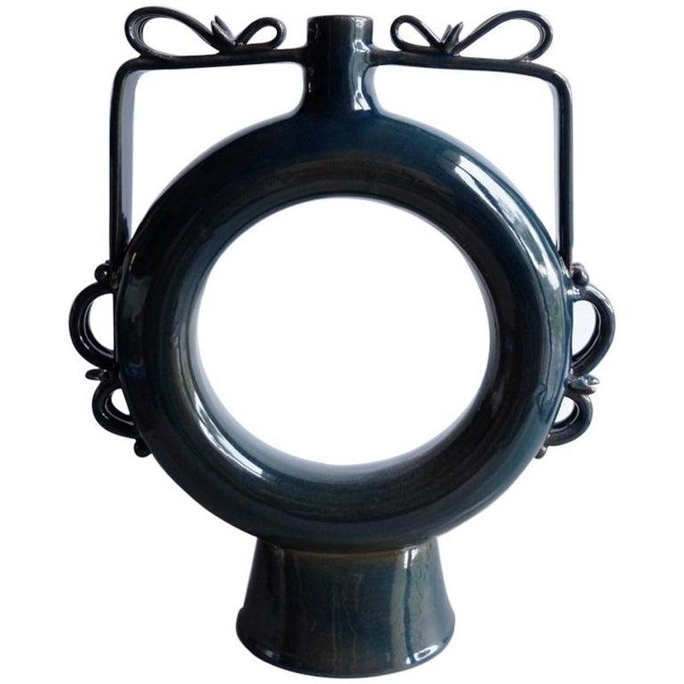 Siri Vase, a Contemporary Reinterpretation of a Classic Roman-Style Vase For Sale