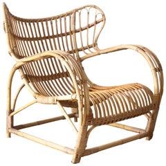 Viggo Boesen Easy Chair for E.V.A. Nissen & Co.
