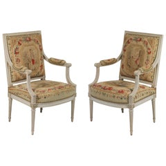 Suite of Louis XVI Seat Furniture by Henri Jacob