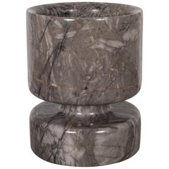 MCM Reversible Marble Vase by Angelo Mangiarotti for Knoll International