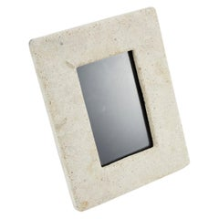 Tessellated Matte Mactan Stone Picture Frame, 1990s