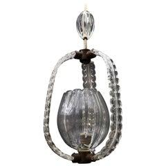 1940s Murano Hanging Lantern