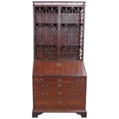 Antique 18th Century Federal Style Secretary Desk