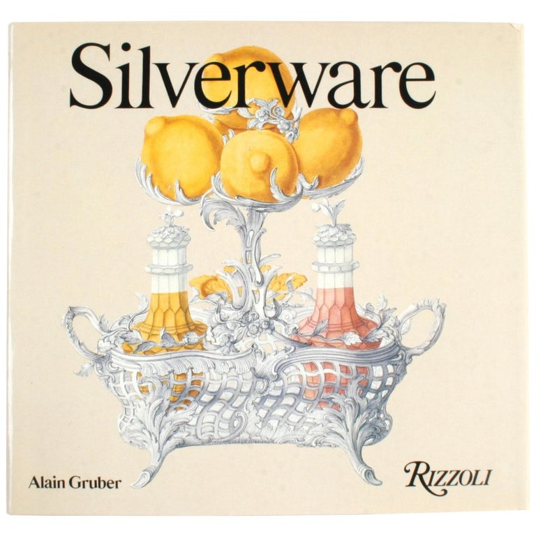 Silverware by Alain Gruber, First Edition Book For Sale