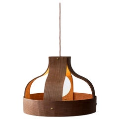 Wood Pendant Light, Bound by Carnevale Studio, Cherry
