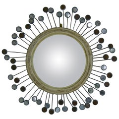 "1955 Mirror in Talosel Called ""Ombrelle"" by Line Vautrin"
