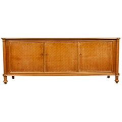 Sideboard Signed and Dated by Jules Leleu