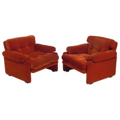 Tobia Scarpa Lounge Chairs for C&B Italia