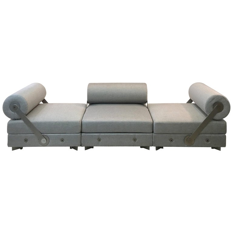 """""""Todo Modo"""" Modular Seating with Reversible Backrests For Sale"""