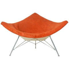 Early 1960s George Nelson for Knoll Coconut Lounge Chair