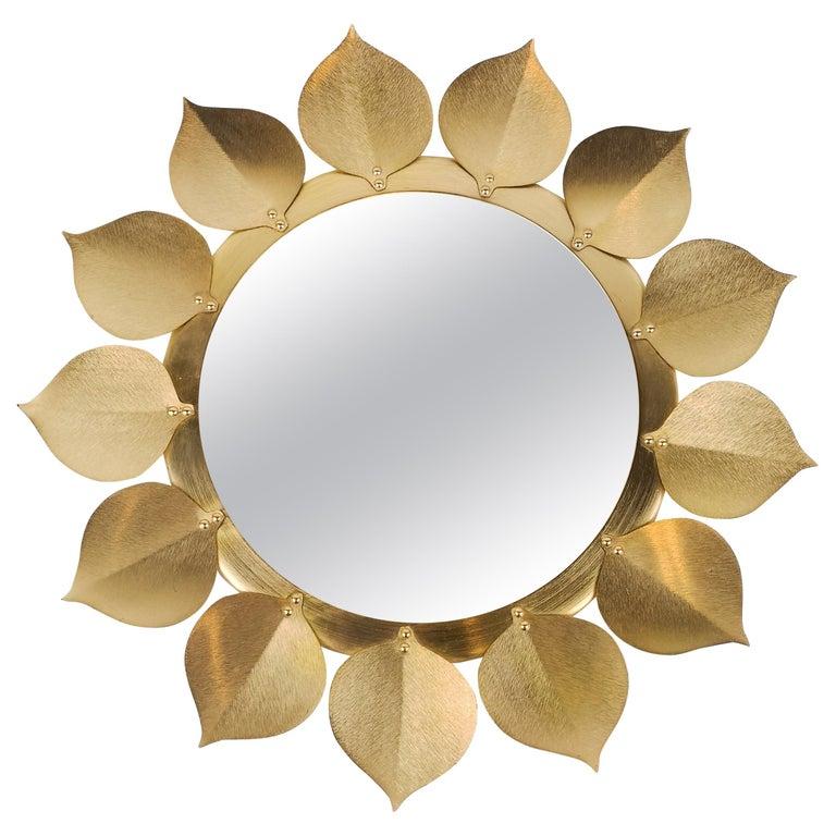 Midcentury Mirror Sweden Västerås For Sale