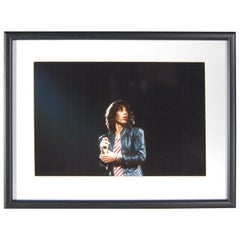 """Mick Jagger Photograph """"On Stage"""", London"""
