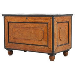 19th Century Satinwood and Ebony Chest