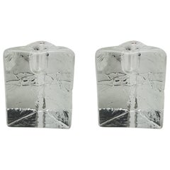 Pair of  Candleholders by Tima Sarpaneva for Iittala, Finland