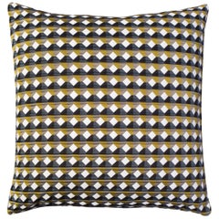 Rio Pattern Cushion Curvature Collection Inspired by Brazilian Architecture