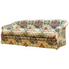 Midcentury Baker English Chinoiserie Style Sofa