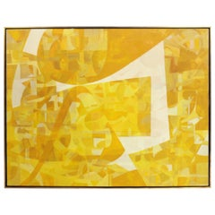 Large Scale Midcentury Abstract Painting
