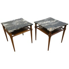 John Widdicomb Marble-Top Tables Attributed to T. H. Robsjohn Gibbings