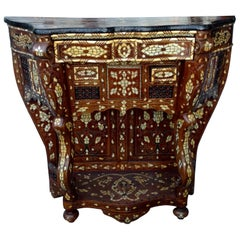 Moroccan Inlaid Console