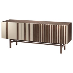 Sideboard Go in Wood and Lacquer