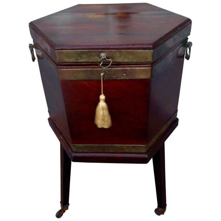 Georgian Period Cellarette For Sale