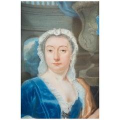 Pastel Portrait of a Lady, Dutch, circa 1730