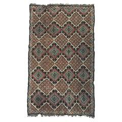 Vintage Moroccan Vintage Berbere Kilim