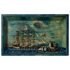 Colorful Ship Diorama