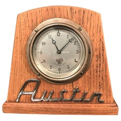 Vintage Auto Car Clock by Smiths of England