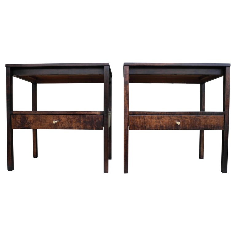 Mid-Century Modern Pair of Night Stands by Paul McCobb