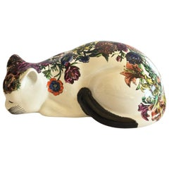 Large Fornasetti Midcentury Cat