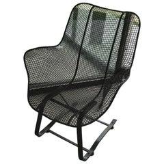 Mid Century Russell Woodard Sculptura Lounge Rocking Chair, 1950s