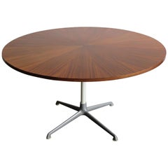 1950s Charles & Ray Eames for Herman Miller Dark Wood Dining Table
