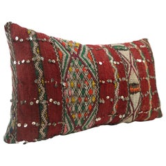 Moroccan Chic Kilim Pillow Extra Large Lumbar Morocco Cushion