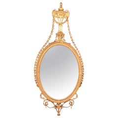 Fine English Gilt Mirror in the Adam Taste, circa 1770