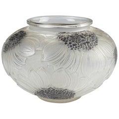René Lalique Dahlias Vase