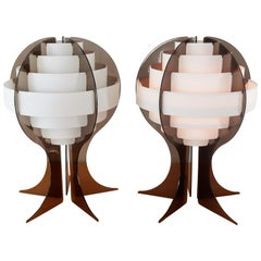 Strips Table Lamps by Preben Jacobsen & Flemming Brylle for Quality System