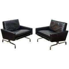 Pair of PK31/1 Poul Kjaerholm Lounge Chairs
