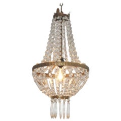 Chandelier Sac a Pearl